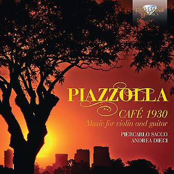 Piazzolla / Dieci / Sacco - Cafe 1930 Music for Violin & Guitar [CD] USA import