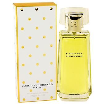 Carolina Herrera Eau De Parfum Spray mennessä Carolina Herrera 3,4 oz Eau De Parfum Spray