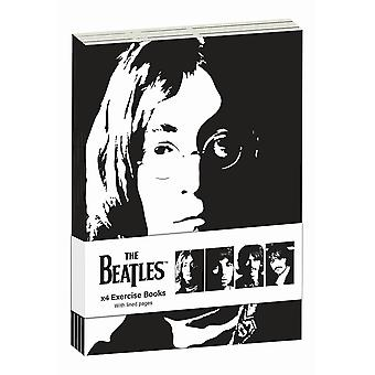 The Beatles Revolver A6 Notebook (Pack of 4)