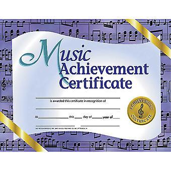 "Music Achievement Certificate, 8.5"" X 11"", Pack Of 30 H-Va536"