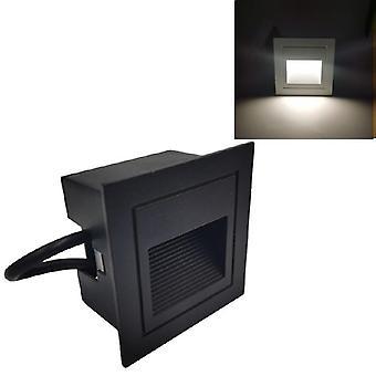vanntett underjordisk led vegg lys for trinn trapp, utendørs, hage