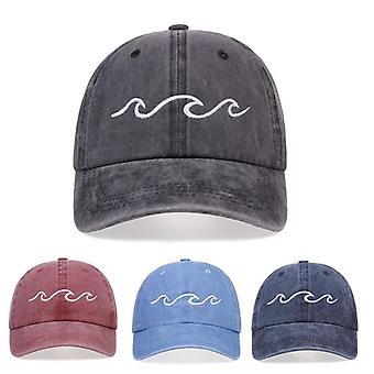 الصيف القطن غسلها قبعة البيسبول، في الهواء الطلق الرياضة النساء / الرجال قبعة الشمس