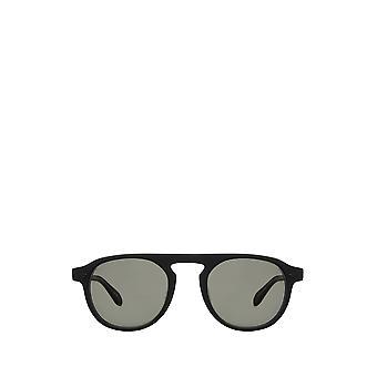 Garrett Leight HARDING SUN matte black male sunglasses