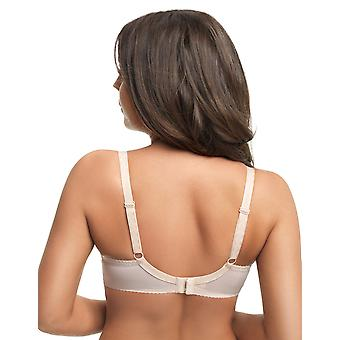 Gorsenia Amy MK15 Women's Beige Embroidered Non-Padded Underwired Maternity Bra