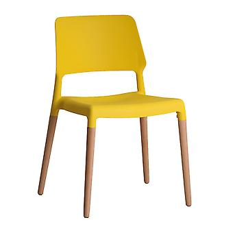 Rovert Chair Yellow (Pack Of 2)