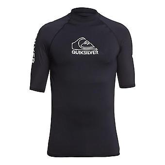 Quiksilver On Tour Rash Vest - Black