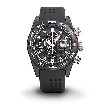 Locman Wristwatch STEALTH 300Mt 0218C09R-CWCBRGS2K