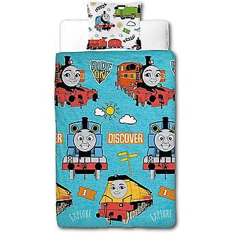 Thomas & Friends Ride On Reversible Duvet Cover Set