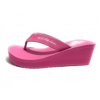 Teenslippers Amerikaanse Polo Teenslippers Zeppa Mod. Rubber Tansy Tc 60 Pl 20 Fuxia Ds18up19