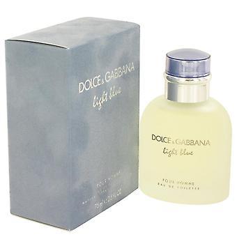 Light Blue Eau De Toilette Spray av Dolce & Gabbana 2.5 oz Eau De Toilette Spray
