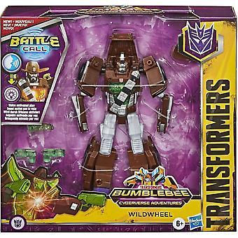 Transformers Cyberverse Battle Call Trooper Whildwheel Figure