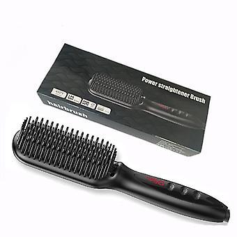 Men Beard Straightener Hot Heating Comb