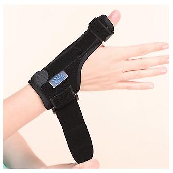 Thumb cyst wrist fractures brace wrist tenosynovitis hand fixed brace breathable gauntlets thumb brace