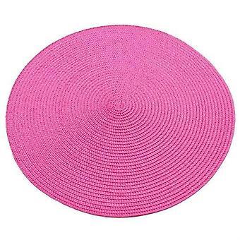 4ks tepelně odolné Pp jídelní stůl mat tkané placemat podložky