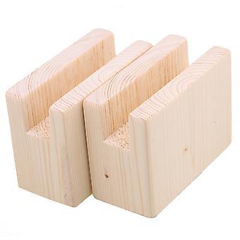 2x muebles de madera almacenamiento elevadores elevadores 2CM groove 5CM altura de elevación