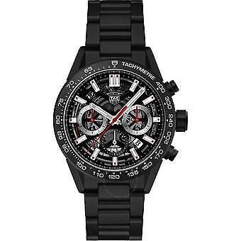 Tag Heuer Carrera Chronograph Automatic Black Dial Men's Watch CBG2090.BH0661