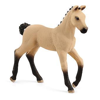 Schleich 13929 Hannoverian Foal, Red Dun Horse Club Figure