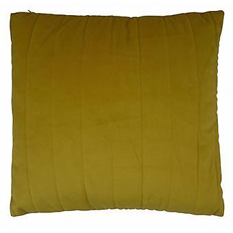 pillow 45 x 45 cm textile saffron