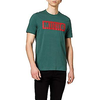 MUSTANG Alex C Logo Camiseta tee, verde, L masculino