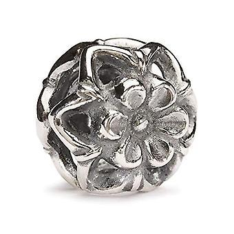 Trollbeads 11339 - Perla con agujero en forma de flor de calabacín
