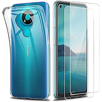 Shell for Nokia 3.4 in transparent rubber