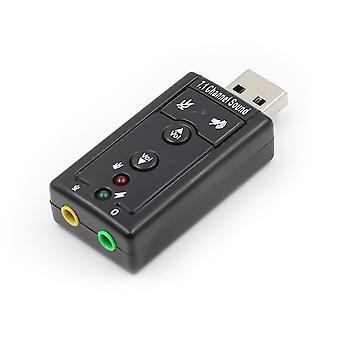 7.1 Externí zvuková karta USB