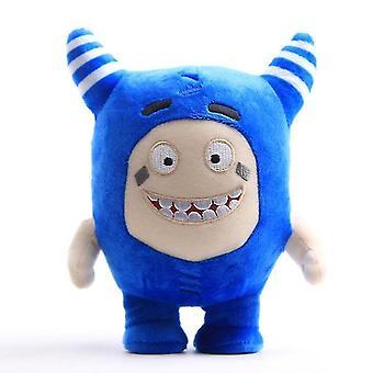 18Cm sininen oddbods muhkea lelu nukke, sarjakuva anime nukke az7743