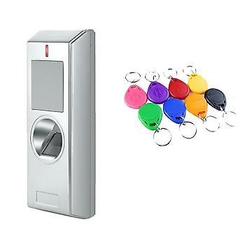 Vedenpitävä Ip67 2000 käyttäjät metalli biometrinen sormenjälkien käytön valvontajärjestelmä