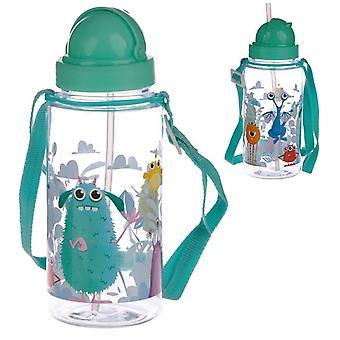 Monsters Design 450ml Childrens Water Bottle