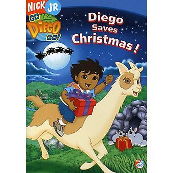 Go Diego Go! - Diego Saves Christmas [DVD] USA import