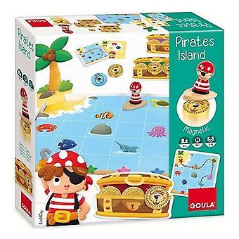 Wooden Game Pirates Island Goula