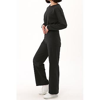 Crop Top Pants Suit