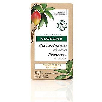Klorane Nourishing Shampoo Bar med Mango 80g