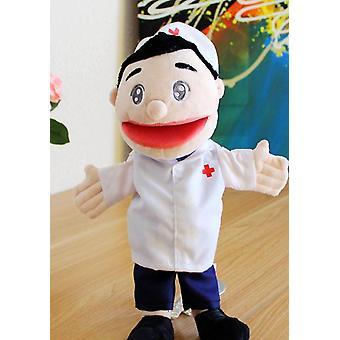 30cm Chef Hand Puppets Sarjakuva Lasten leluhahmojen kokoelma  Nuket