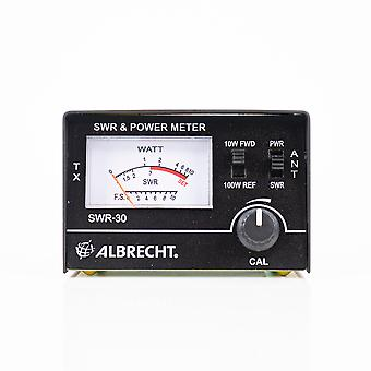 PNR SWR-2462 reflectometer, PWR-SWR Meter, for measuring SWR radio antennas in frequency 26-30Mhz and power of CB radio stations