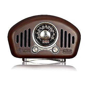 الصلبة بلوتوث خشبية 5.1Speakers باس ستيريو مشغل الموسيقى الرئيسية| مكبرات الصوت المحمولة(الجوز)