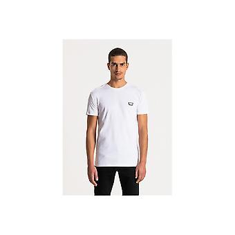 Antony Morato Core Metal Badge T-shirt