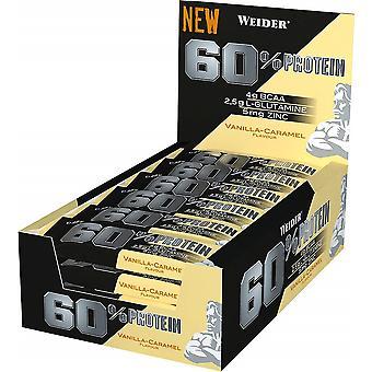 60% Protein Bar, Vanilla-Carmel - 24 bars