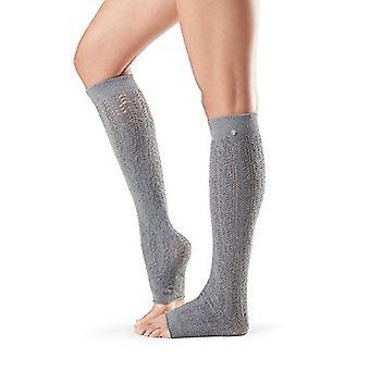 Toesox Ava Leg Warmers Knee High Athletic Dance Studio Yoga Muscle Warmer