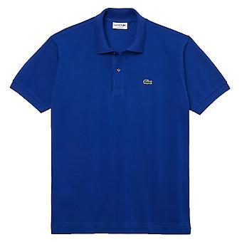 Lacoste Klassisk Pique Polo Skjorte - Mørk Blå
