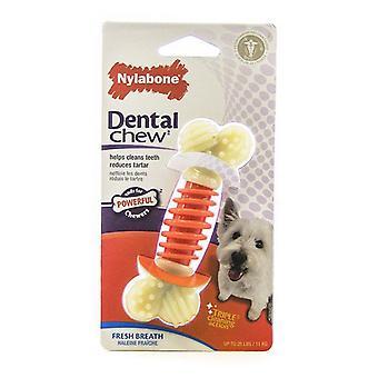 """Nylabone Pro Action Zubné žuvanie - Čerstvý dych - Malý - 4"""" Dlhý"""