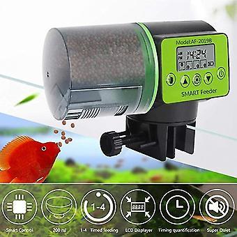 Fiskematere automatisk fiskemater digital fisketank akvarium elektrisk plast timer feeder mat fôring dispenser verktøy fiskemater