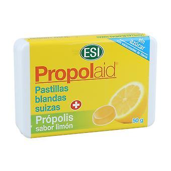 Propolaid Citronsmak mjuka propolis piller 50 g (Citron)