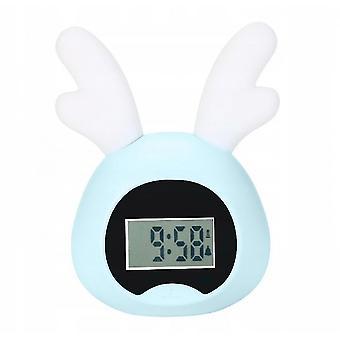 Alarm clocks little wake up light bunny alarm clock light blue