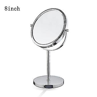 Mirrors table top 3x makeup mirror cordless double side cosmetic magnification mirrors for bathroom or
