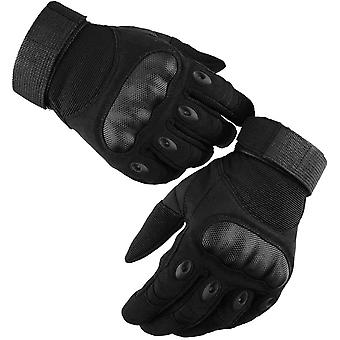 Motorcycle Gloves, Full Finger Motorcycle Racing Gloves M