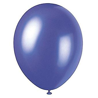 """56880 - 12"""" Pearlised Latex Electric Purple Ballons, Packung mit 50 Stück"""