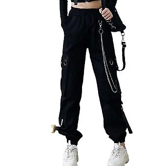 Pantalon Rock Punk Goth Noir Pantalon Cargo S M L Xl Xxl