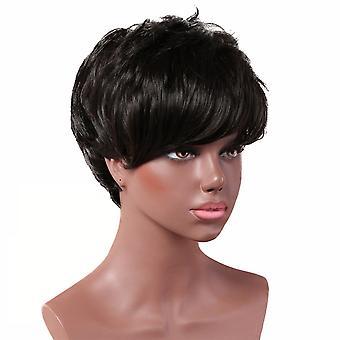 Brand Mall Peruki, Koronkowe Peruki, Realistyczne Krótkie Kręcone Włosy