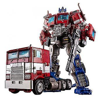 barnas leketøy bil auto mann legering robot leketøy (rød)